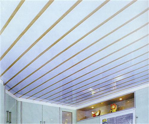 铝合金扣板客厅吊顶图片-想装中式风格吊顶
