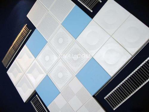 铝扣板吊顶款式图-为什么选择铝扣板吊顶