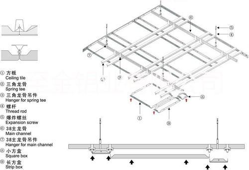 广东铝扣板天花-避免铝扣板吊顶安装压抑