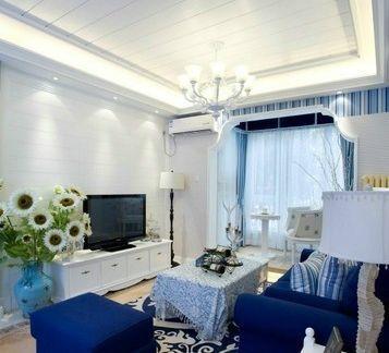 集成吊顶图片客厅现代风格-集成吊顶铝天花pK传统天花吊顶的区别