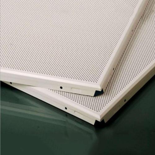 新疆集成铝扣板厂家-佛山铝天花厂家教你辨别微孔铝扣板