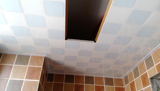 遵义铝扣板-现代简约风铝扣板吊顶家里装