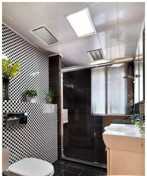 铝扣板效果图-卫生间吊顶效果图