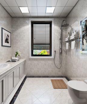 卫生间吊顶铝扣板图片-卫生间300*300铝扣板吊顶怎么拆卸