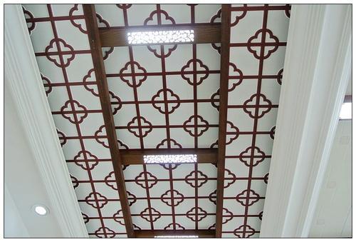 古典铝扣板吊顶-担心集成吊顶不好看