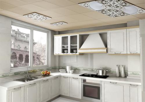 厨房铝扣板一般下吊多少-中央空调铝扣板吊顶一般吊多高呢