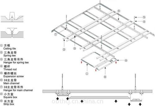 铝扣板吊顶厂址-卫生间铝扣板吊顶厂家告诉你