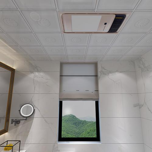 厕所铝扣板吊顶效果图-铝扣板怎么会生锈