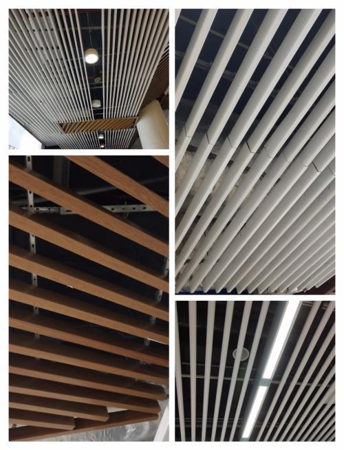 铝方通吊顶和铝扣板吊顶对比-铝方通吊顶不平