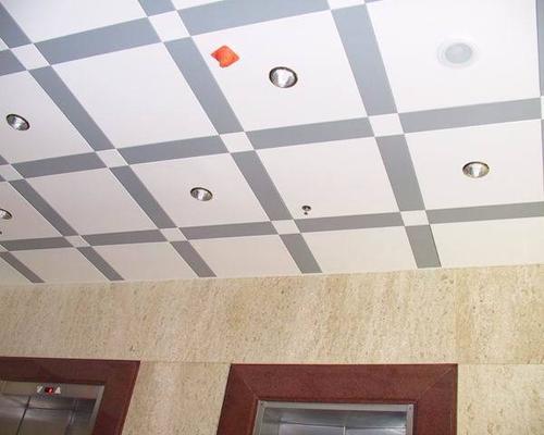 吊顶铝扣板工程厂家-铝扣板医院工程案例效果图