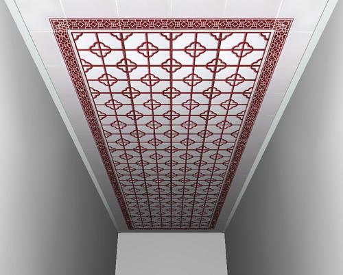 中式风格铝扣板吊顶-铝扣板生产厂家之铝扣板吊顶时兴风格有哪些