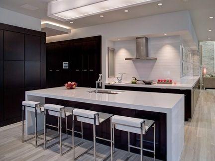 铝扣板厨房吊顶效果图-餐厅铝扣板吊顶用哪种