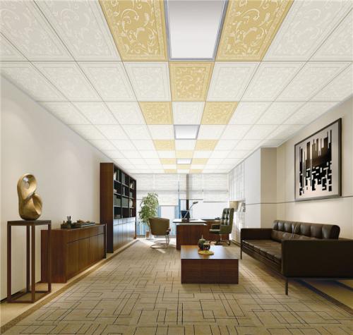办公楼铝扣板吊顶-哪种材料适合办公室吊顶