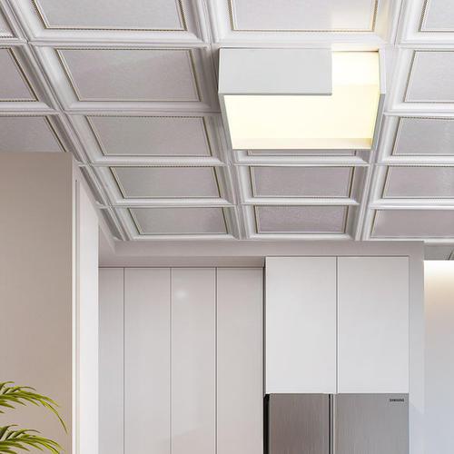 卧室吊铝扣板-先来看看卧室吊顶效果图