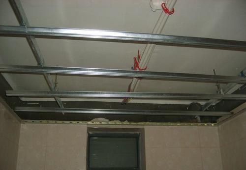 铝扣板吊顶丝杆间距-跟着卫生间铝扣板吊顶厂家就知道啦