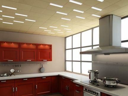 厨房铝扣板图片-厨房卫生间铝扣板吊顶安装流程详解