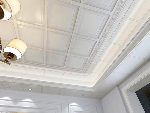 铝扣吊顶集成吊顶-客厅铝扣天花板的优缺点