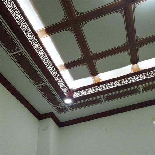 阳台书房集成吊顶-阳台吊顶用桑拿板还是铝扣板好呢