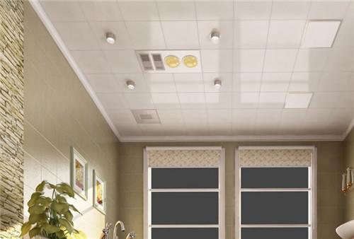 浅灰集成吊顶-厨卫铝扣板吊顶又要怎么选