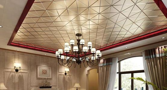吊顶效果图铝扣板家用-铝扣板集成吊顶效果图