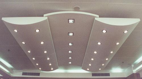 酒店集成吊顶造型图片大全-那些吊顶适用于酒店装修