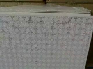 新疆铝扣板-新品时尚铝蜂窝组合铝扣板效果图