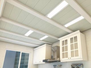 铝扣板过道吊顶效果图-品牌商城铝扣板工程案例效果图