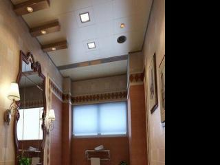 铝扣板做吊顶效果图-现代简约铝扣板吊顶效果图
