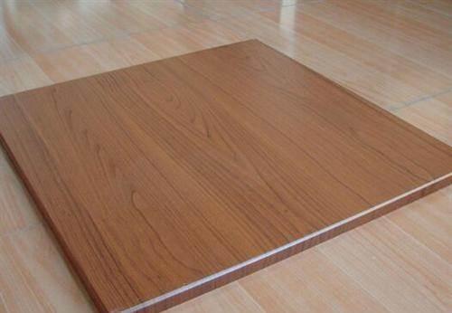 木纹铝扣板效果图