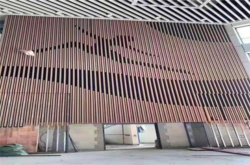 外墙铝型材效果图
